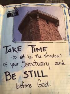 be still before God