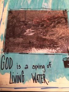 living water stream