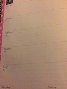 moleskine week