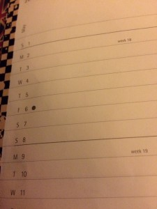 moleskine month