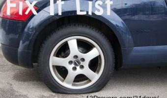 fix it list