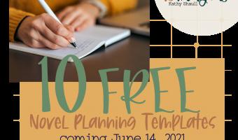 10 free novel planning templates