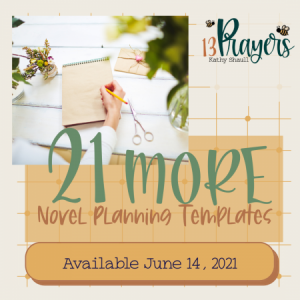 21 more novel planning templates