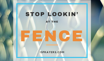 Stop Lookin' at the Fence