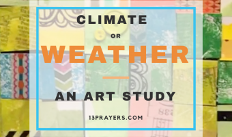 Climate vs. Weather: Art to the Rescue!